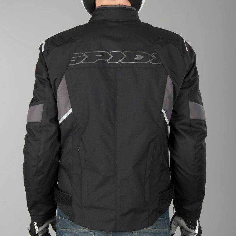 Jaqueta Spidi Flash H2Out Black/Anthracite  - Nova Centro Boutique Roupas para Motociclistas