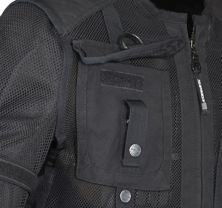 Jaqueta Spidi Multitech Armor Evo - SUPEROFERTA!  - Nova Centro Boutique Roupas para Motociclistas