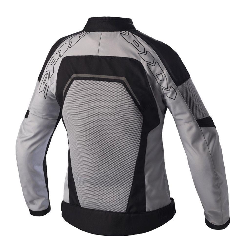 Jaqueta Spidi Tronik Net Lady - Preto/Cinza - Ventilada - Feminina  - Nova Centro Boutique Roupas para Motociclistas