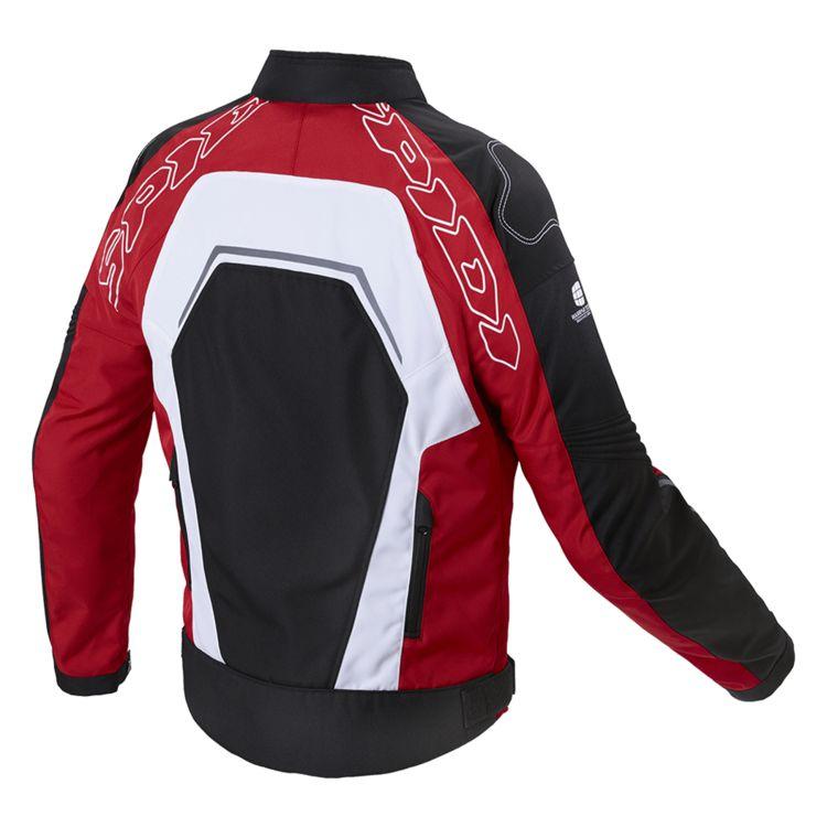Jaqueta Spidi Tronik Net - Vermelha - Ventilada  - Nova Centro Boutique Roupas para Motociclistas