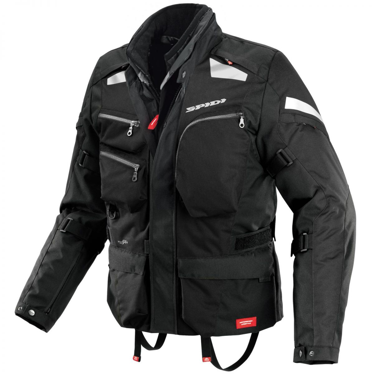 Jaqueta Spidi Voyager 3 H2Out Dark ( Big Trail ) - SUPEROFERTA!