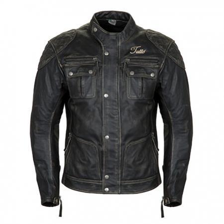 Jaqueta Tutto Custom Couro Men   - Nova Centro Boutique Roupas para Motociclistas