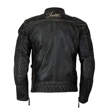 Jaqueta Tutto Couro Custom Men   - Nova Centro Boutique Roupas para Motociclistas