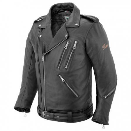 Jaqueta Tutto Couro Fashion Men  - Nova Centro Boutique Roupas para Motociclistas