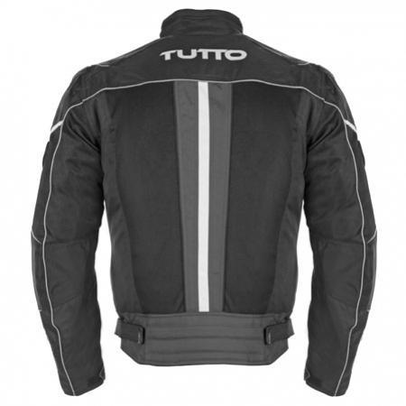 Jaqueta Tutto Moto Lucca cinza  - Nova Centro Boutique Roupas para Motociclistas
