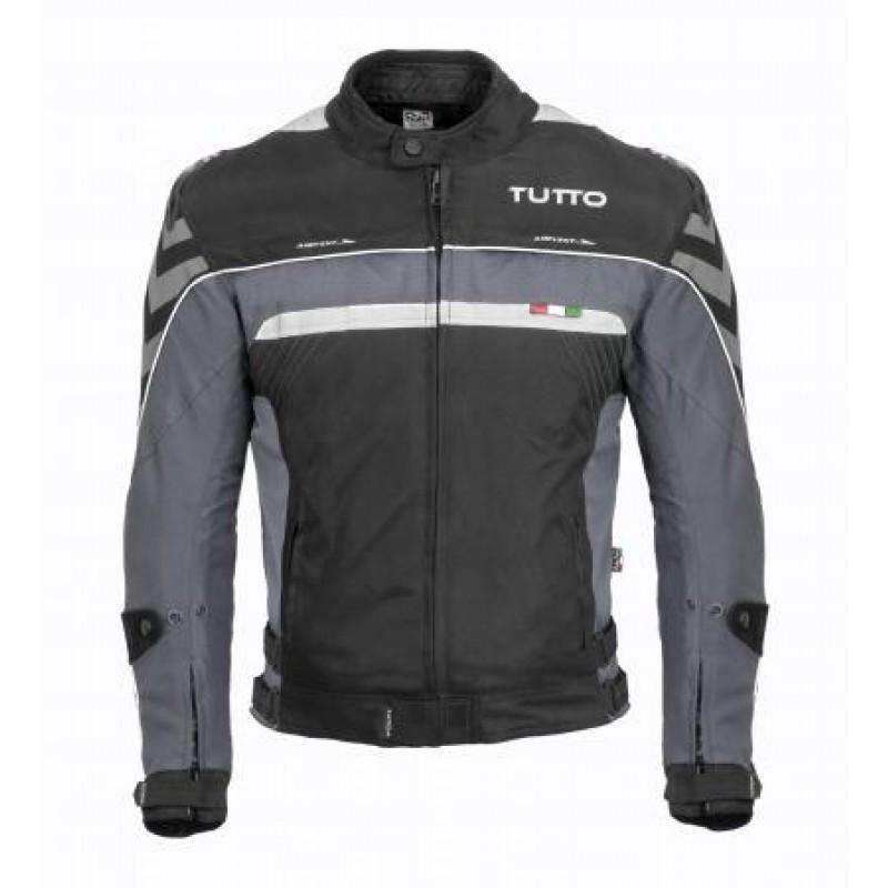 Jaqueta Tutto Moto Veloce Cinza Lançamento!!  - Nova Centro Boutique Roupas para Motociclistas