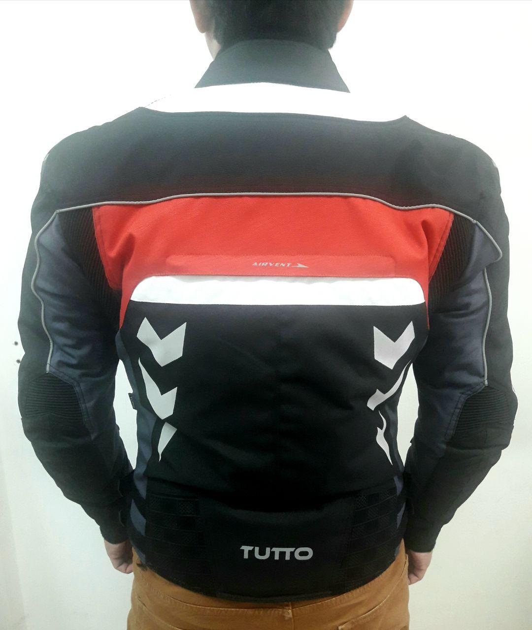 Jaqueta Tutto Moto Veloce Vermelha  - Nova Centro Boutique Roupas para Motociclistas