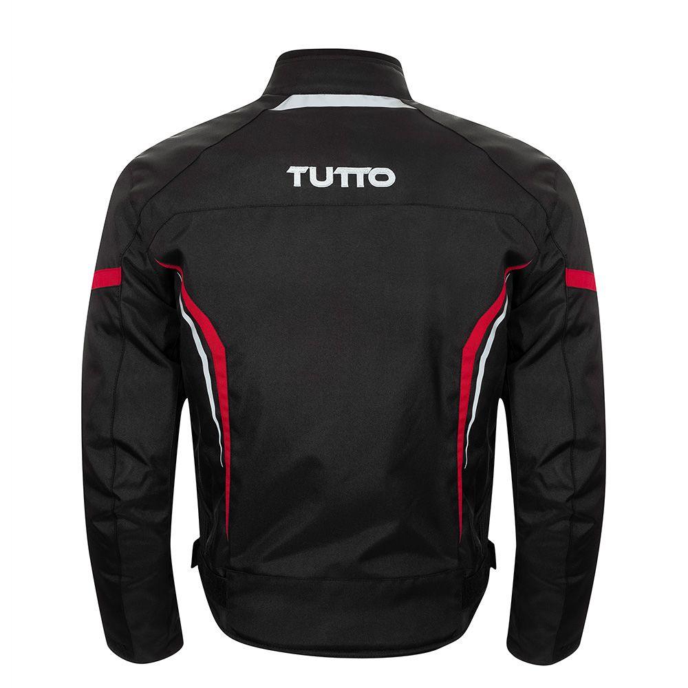 Jaqueta Tutto Moto X-Men - Preto / Vermelho - Impermeável  - Nova Centro Boutique Roupas para Motociclistas