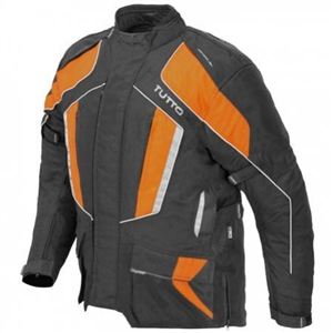 Jaqueta Tutto Varese Laranja  - Nova Centro Boutique Roupas para Motociclistas