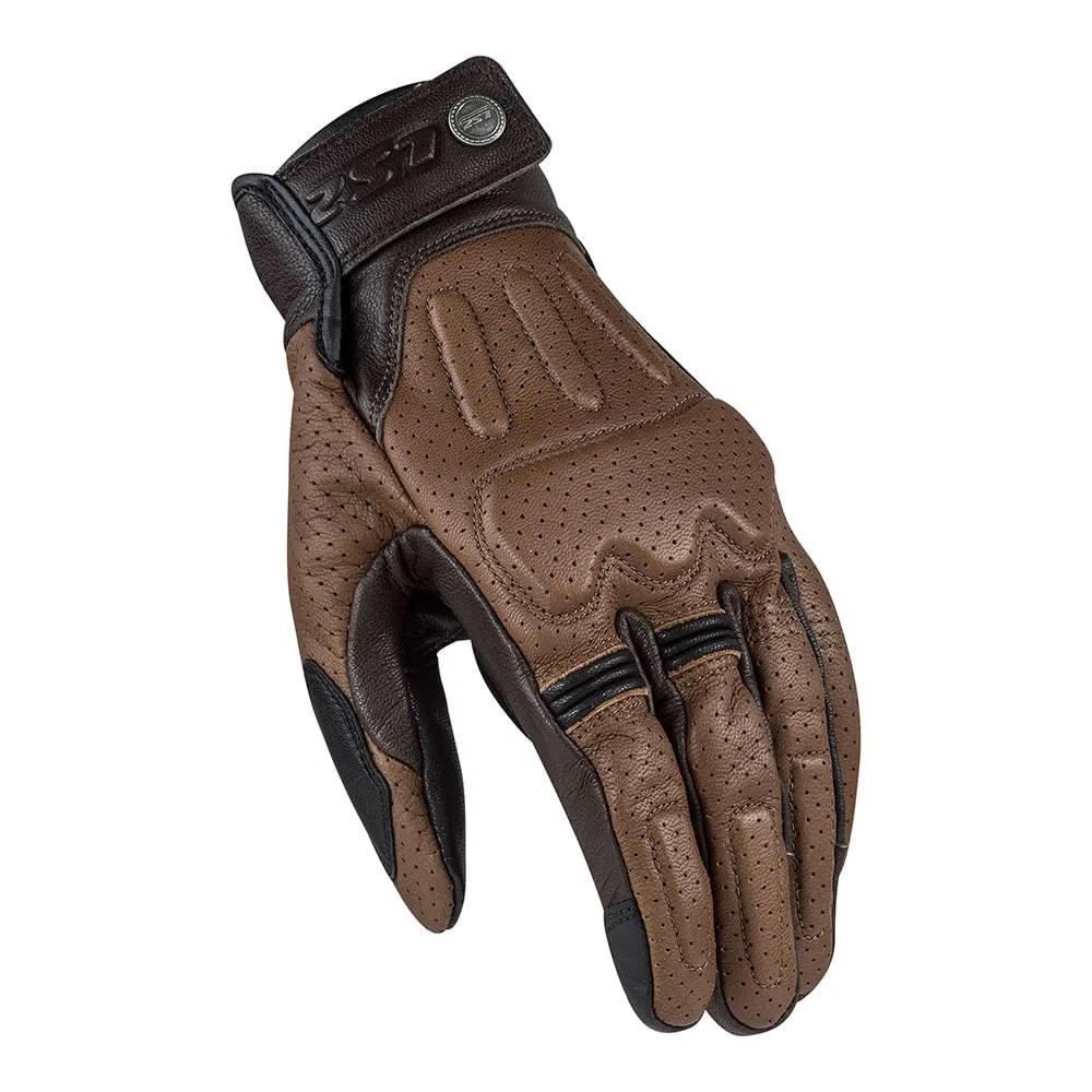 Luva LS2 Rust - Marrom  - Nova Centro Boutique Roupas para Motociclistas