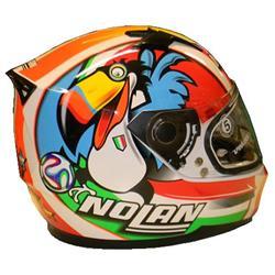 Nolan N64 Gemini Replica M. Melandri Misano (GANHE VISEIRA FUMÊ)  - Nova Centro Boutique Roupas para Motociclistas