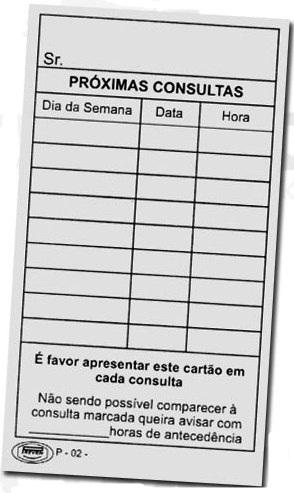 CARTÃO DE HORÁRIO  - Dental Curitibana