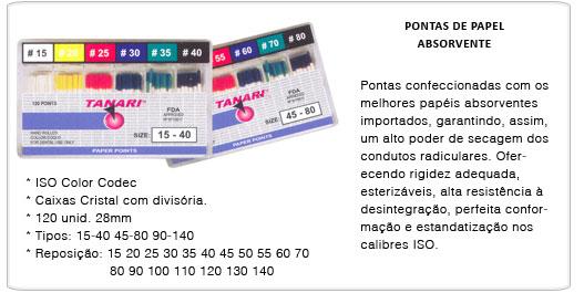 CONE DE PAPEL TANARI  - Dental Curitibana