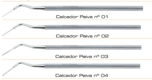 CALCADORES PAIVA JOGO C/4  - Dental Curitibana