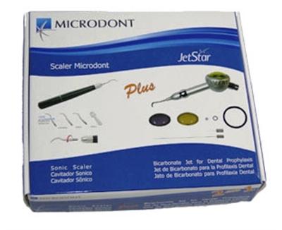 KIT ULTRASSOM SCALER CAVITADOR +JETSTAR MICRODONT  - Dental Curitibana