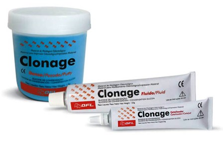 CLONAGE SILICONE KIT  - Dental Curitibana