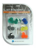 MICRODONT KIT DISCO DE LIXA C/28 SNAP  - Dental Curitibana