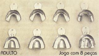 MOLDEIRA INOX C/ 8 LISA MARCA PR  - Dental Curitibana