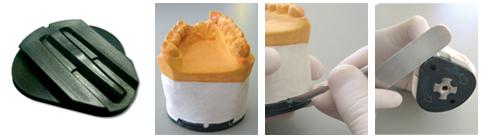 PLACA DE MONTAGEM P/ ARTICULADOR BIOART  - Dental Curitibana