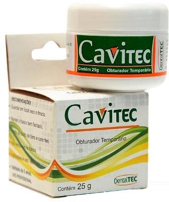 OBTURADOR PROVISÓRIO CAVITEC  - Dental Curitibana