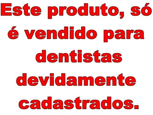 CLAREADOR WHITE CLASS  FGM  - Dental Curitibana