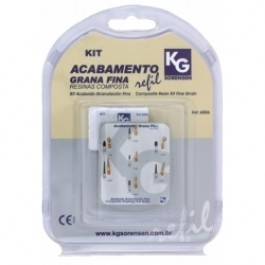 KIT KG BROCAS GRANA FINA E ULTRAFINA 6007  - Dental Curitibana