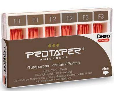 CONE DE GUTA PROTAPER MAILLEFER  - Dental Curitibana