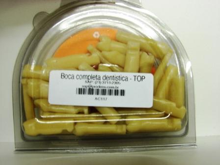 MANEQUIM PRONEW BOCA (SÓ DENTES) DENTÍSTICA   - Dental Curitibana