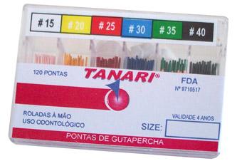CONE DE GUTA PRINCIPAL TANARI  - Dental Curitibana