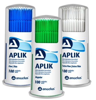 APLIK - PINCEIS BRUSH ANGELUS  - Dental Curitibana