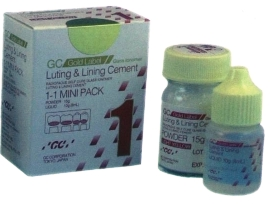 IONOMERO GC GOLD LABEL 1LUTING & LINING CEMENT  - Dental Curitibana