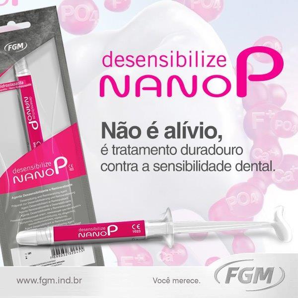 NANO P DESENSIBILIZANTE FGM  - Dental Curitibana