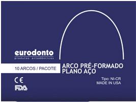 ARCO PRE CONTORNADO AÇO RETANGULAR  - Dental Curitibana