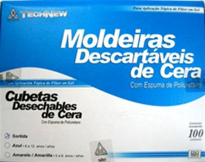MOLDEIRA PARA APLICAÇÃO DE FLUOR TECHNEW  - Dental Curitibana