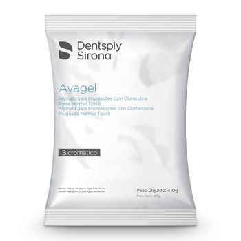 ALGINATO AVAGEL KIT PROMOCIONAL C/3  - Dental Curitibana