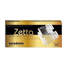 BRACKET EURODONTO MONOCRISTALINO MODELO ZETTA  - Dental Curitibana
