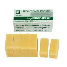 CERA PARA ESCULTURA LYSANDA C/10 BLOCOS  - Dental Curitibana