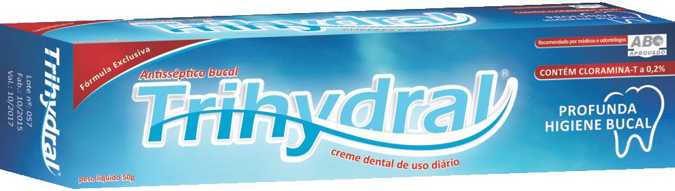 CREME DENTAL C FLUOR TRIHYDRAL  - Dental Curitibana