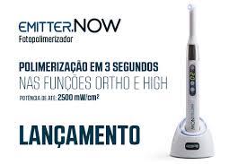 FOTOPOLIMERIZADOR SCHUSTER EMITTER NOW S/FIO  - Dental Curitibana