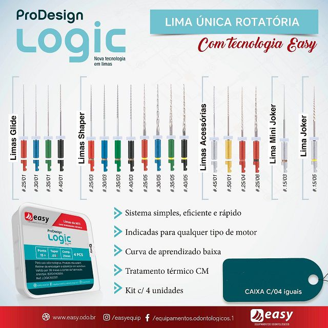 LIMA EASY LOGIC 25... 25mm  - Dental Curitibana