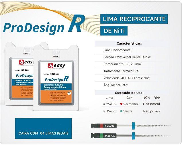 LIMA EASY PRODESING R 25mm  - Dental Curitibana