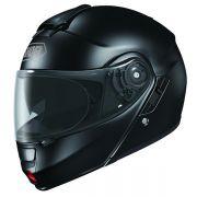 Capacete Shoei Neotec Preto ( Escamoteável ) COM VÍDEO - Semana do Motociclista