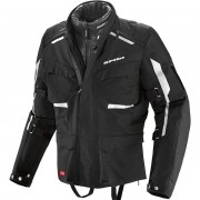 Jaqueta Spidi Tour S7 H2OUT (Big Trail - Parka) Só XL e 2XL - BlackOferta