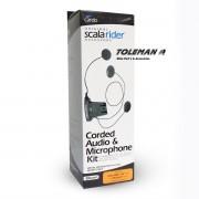 Base Audio e Michophone Kit III Cardo (Q2 / Q2 MULTISET)