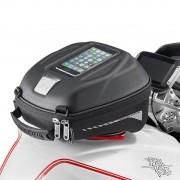 Bolsa de Tanque Givi TankLock ST602 4 LITROS (Linha Sport, Engate rápido) Porta Celular