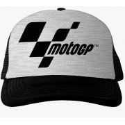Boné MotoGP Fan Racing - Preto/Cinza
