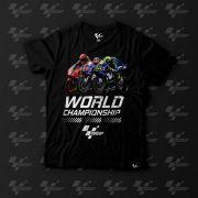 Camiseta Fan MotoGP Championship - Preto