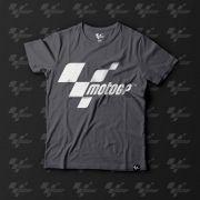 Camiseta Fan MotoGP - Cinza