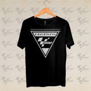 Camiseta Legends MotoGP - Preto