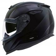 Capacete Nexx SX100 Core Edition Black (Brilhante) C/ Viseira Solar